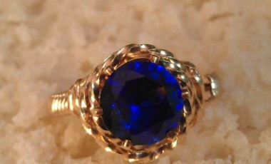 Sapphire Day Ring 01