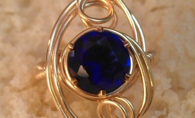 Sapphire Cocktail Ring 01